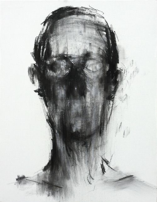 ghost in the machine - Charcoal Drawings by KwangHo Shin