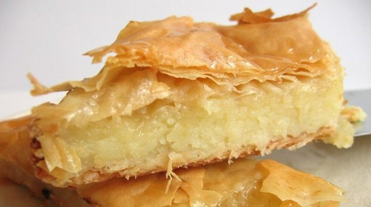 Молочный пирог галактобуреко: вкуснейшее лакомство из Греции — В РИТМІ ЖИТТЯ