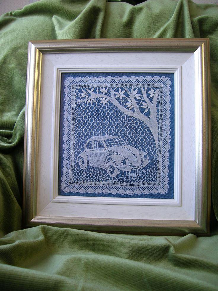 My own lace - VW pricking from Eeva-Lisa Kortelahti