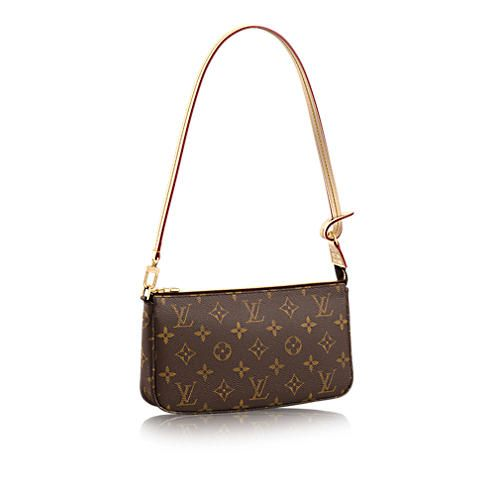 Discover Louis Vuitton Pochette Accessoires NM : Always the epitome of iconic style, this interpretation of the Pochette Accessoires can accommodate a Zippy Wallet. In Monogram canvas, it easily carries all the daily necessities.