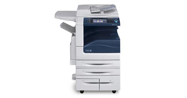 Copiator Profesional XEROX Workcenter7535 - A3, A4 Laser ColorModel: XEROX Workcentre 7535 Functii: Copiere/Printare/Scanare/E-mail/ FaxViteza Printare Color/Alb-Negru: Pana la 35ppm color si 35ppm alb-negruVolum maxim lunar: 110000 paginiRezolutie:1200 x 240