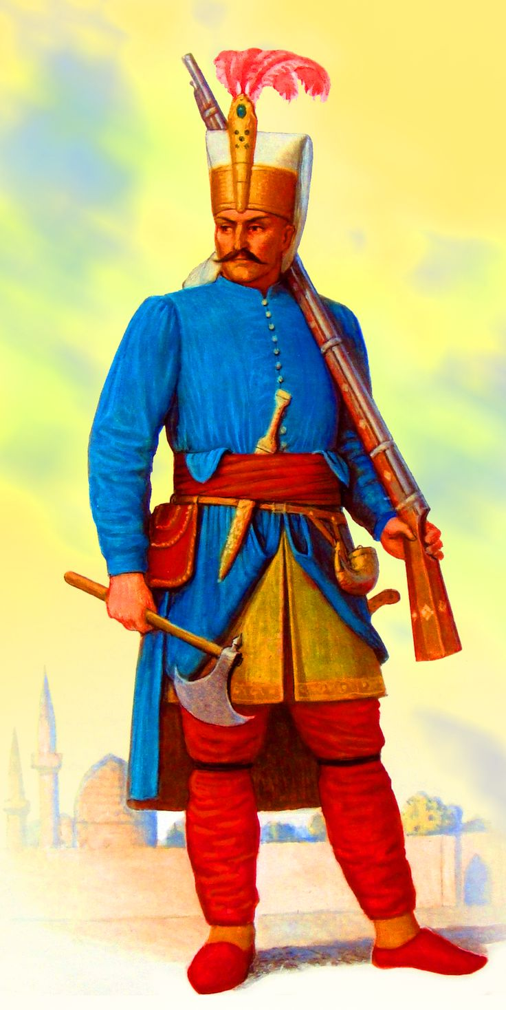 Ottoman Janissary guard | Turkish soldiers, Ottoman empire ...Ottoman Empire Janissaries