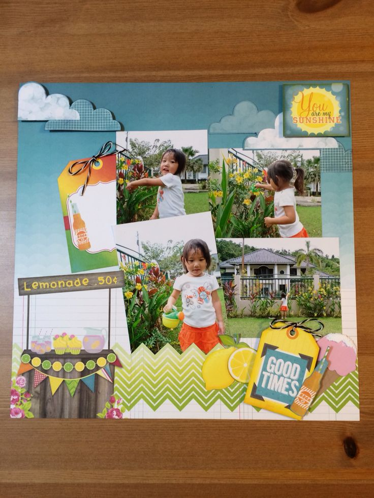 "Scrapbooking (Bo-Bunny) ""My little gardener """