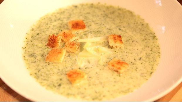 Brokolicová polévka Zdeňka Pohlreicha