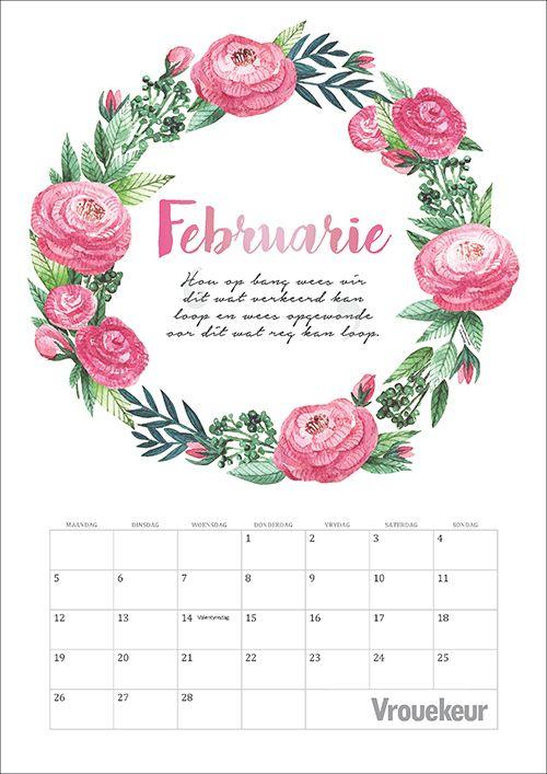Om jou lewe makliker en meer georganiseerd te maak, het ons vir jou kalenders vir die hele 2018 gemaak! Vakansiedae en skoolvakansies word aangedui.