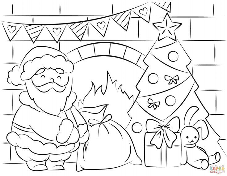 Print Free Santa Claus Coloring Pages This Christmas Santa Coloring Pages Christmas Coloring Pages Santa Coloring Pictures