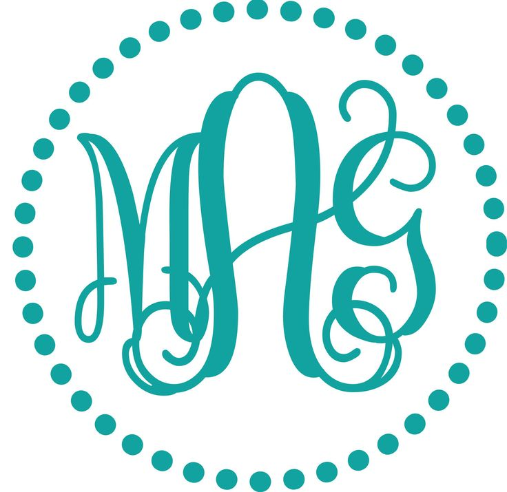 free monogram fonts for vinyl wowcom image results