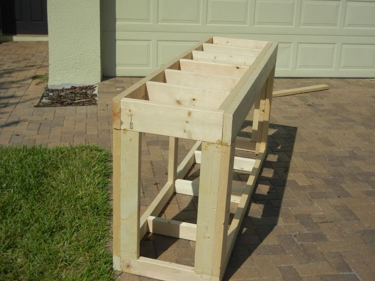how to build a fish tank stands