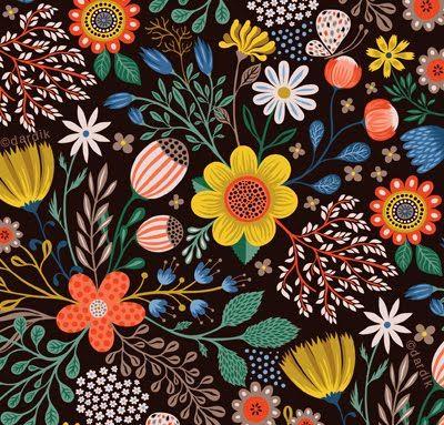 Beautiful Florals // by Helen Dardik - Orange You Lucky.