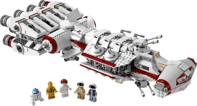 LEGO 10198-1: Tantive IV | Brickset: LEGO set guide and database