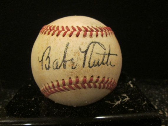 Babe Ruth Reproduction 1935 Autographed by PastimeReproductions