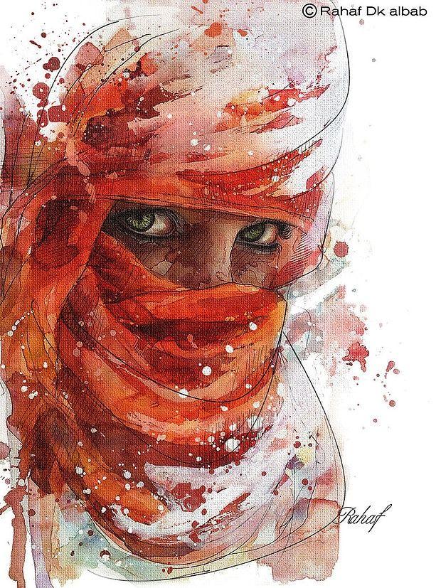 Must See Portraits by Rahaf Dk Albab