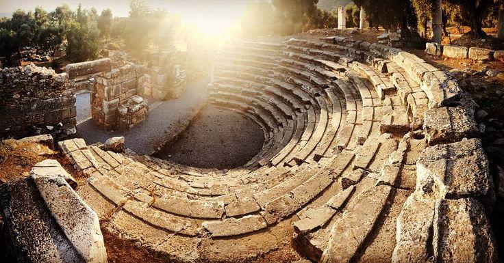 """Gerontikon / Bouleuterion / Senate House"" of #Nysa Ancient City. Gerontikon means ""Council of Elders"" #ancient #history #democracy"