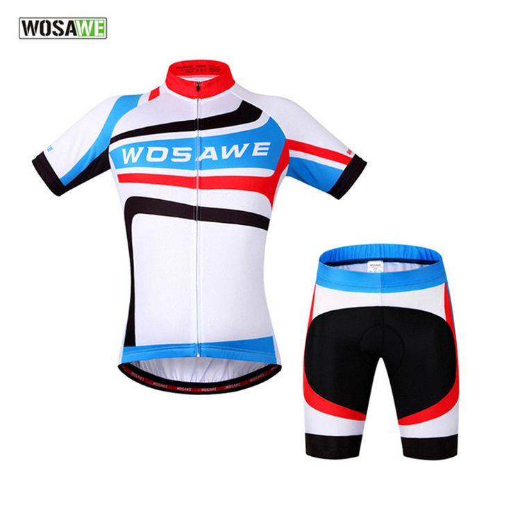 WOSAWE Brand Hot Sale New Arrival Cycling Sets Summer Bike Cycling Clothing Jerseys Sportswear Outdoor Sports Short Sleeve Suit  #Affiliate
