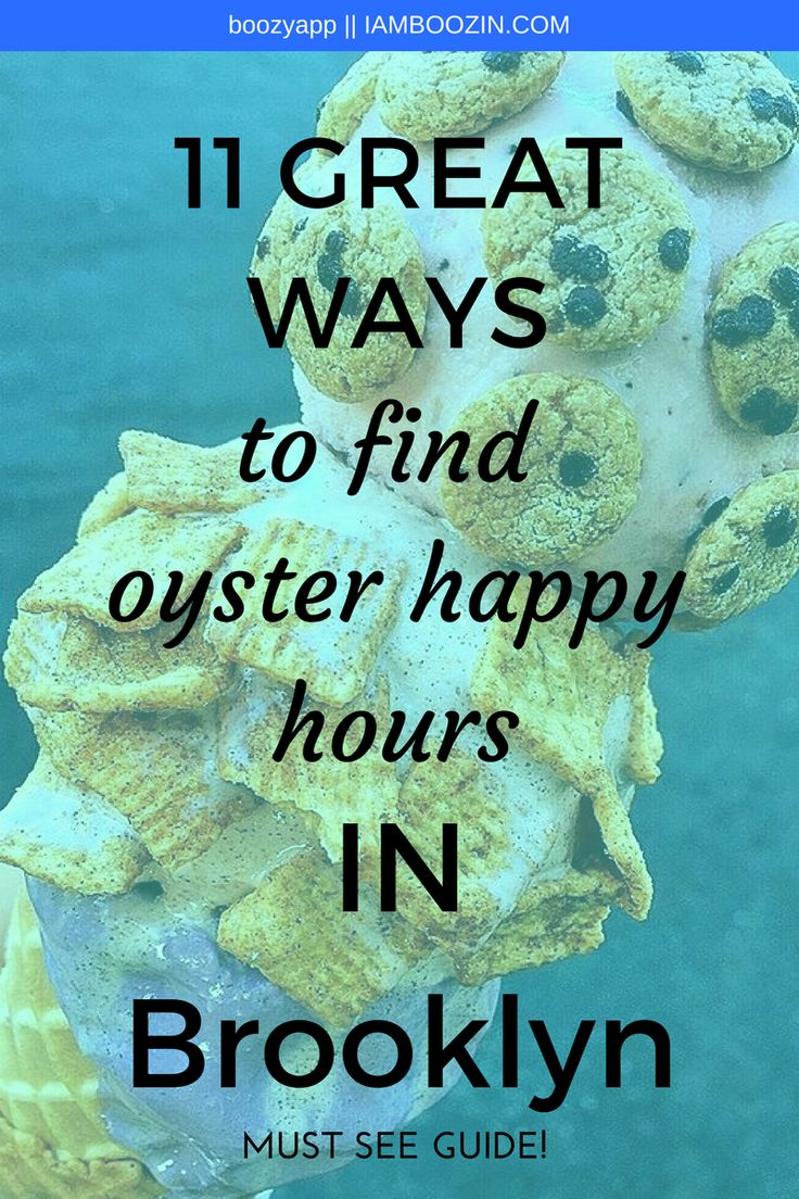 NYC Happy Hour Bar | 11 Great Ways To Find Oyster Happy Hours In Brooklyn [Must See Guide]...Click through for more!  NYC Happy Hour Happy Hour NYC New York Happy Hour Happy Hour New York Brooklyn Happy Hour Happy Hour Brooklyn