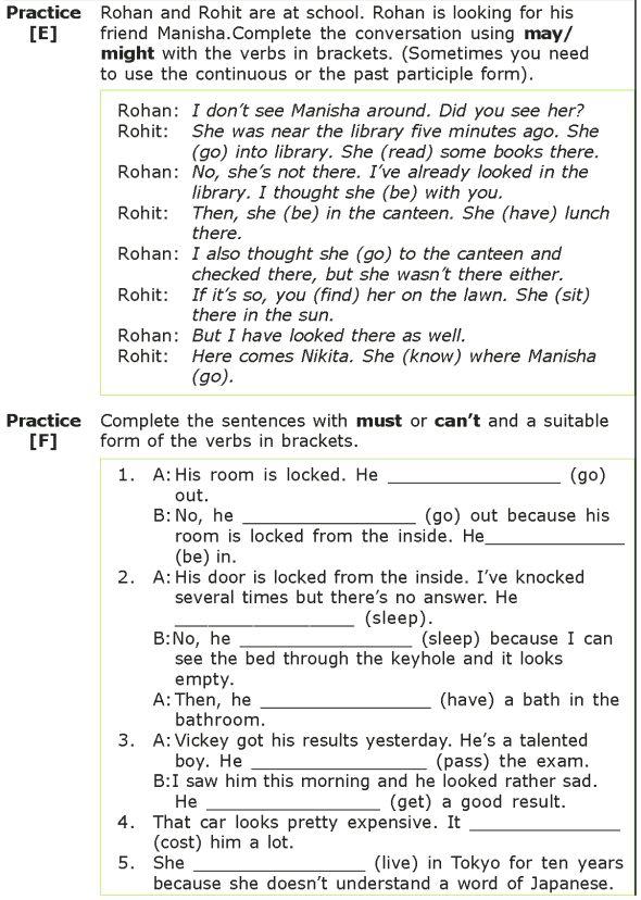 Grade 7 Grammar Lesson 10 Modals Grammar lessons, Good