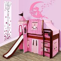 Treat the little prince or princess in your family to a royal makeover of their kingdom. Every item in this collection is inspired by classic fairy tales and will bring a whimsical touch to a nursery or bedroom. From beds that double as castles to magic wands and fairy wings, you're sure to find something to please the tiny royals of your home.    shop home décor