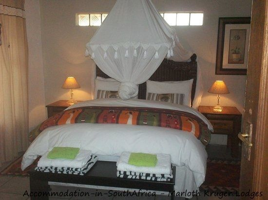 Comfortable rooms at Marloth Kruger Lodges. Marloth Park accommodation.