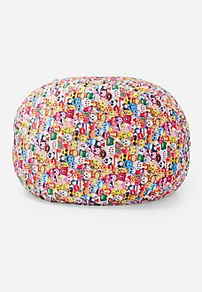 Emoji Collage Bean Bag