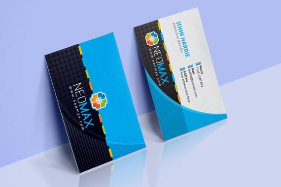 Creative Business Card Template Business Card Design Etsy Business Cards Creative Templates Business Cards Creative Business Card Template