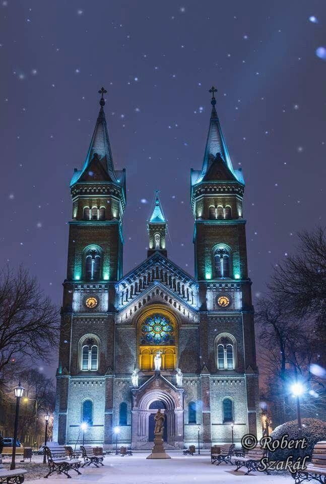 Timisoara - noapte buna prieteni,oriunde v-ati afla ! Timisoara - oras european va doreste Craciun fericit tuturor !  foto Robert Szakál