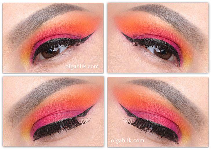 Viseart Editorial Brights Palette 08- Makeup Tutorial