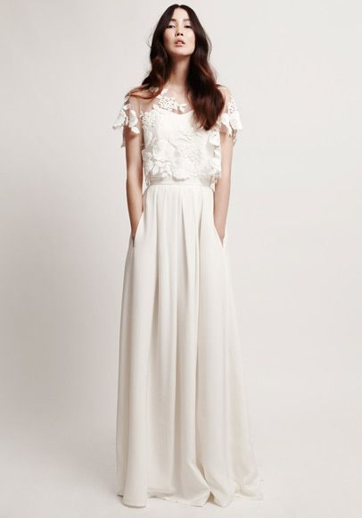 dreamy wedding dress