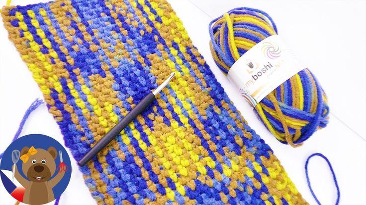 DIY Multicolor vlna - skvělý vzor a jednoduché háčkování