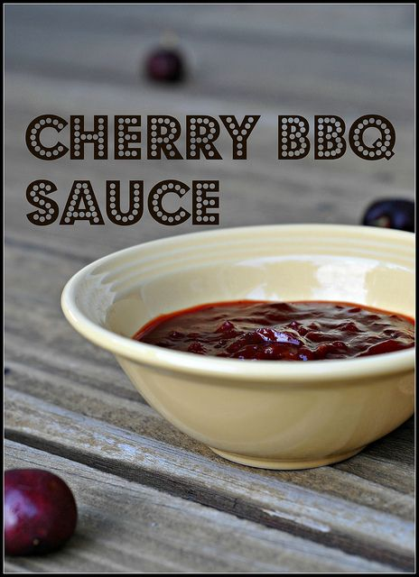 cherry BBQ sauce - for grilled tofu - Whole Foods sells vegan Worcestershire sauce.