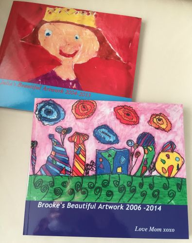 Have you been saving your kids' beautiful artwork because you just can't bear to throw it out?Create a one-of-a-kind photo book from your child's artwork | Tweenhood