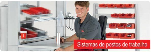 http://www.item24.pt/ Configuração perfeita do posto de trabalho para postos de trabalho manuais na indústria e em escritórios – com o sistema de postos de trabalho da item, todas as tarefas na produção manual podem ser resolvidas de forma ideal.