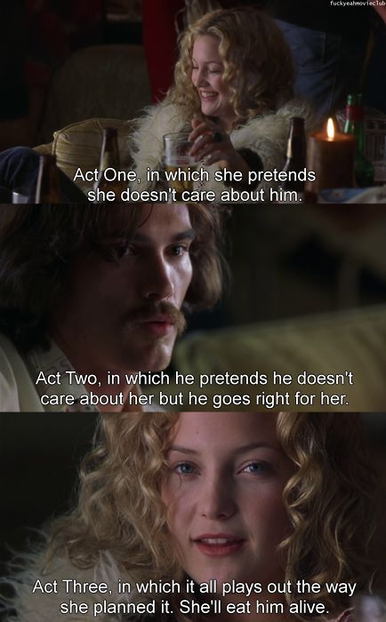 Almost Famous. Great movie for music lovers, but just a great movie in general.