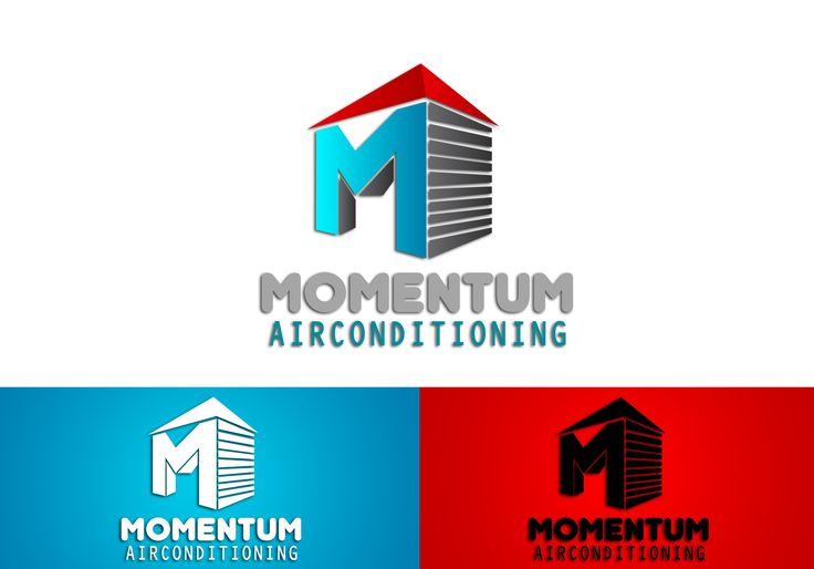 Momentum Air Conditioning Logo Design