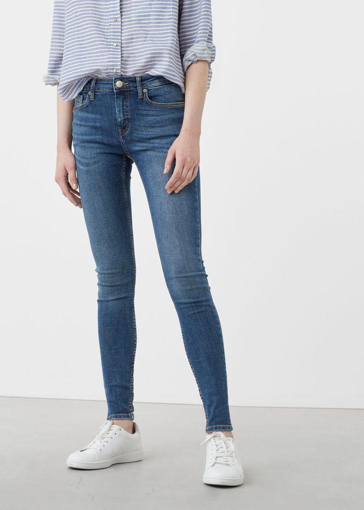 Skinny olivia jeans | MANGO