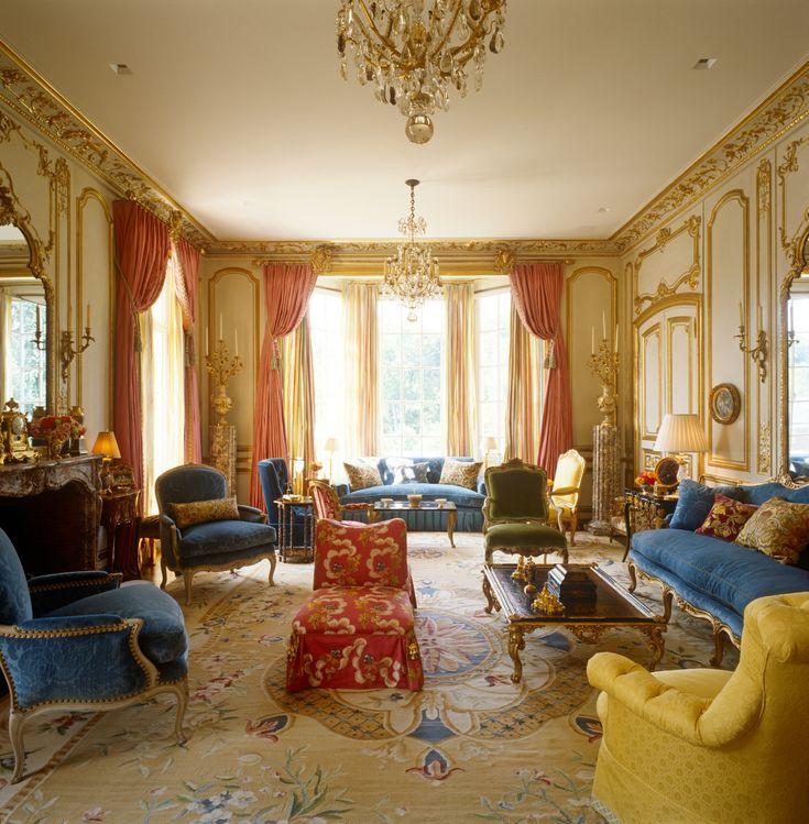 Interior Designer Brian J McCarthy Filled This Atlanta Mansion With Louis XV Furniture XVI XIV And Regence