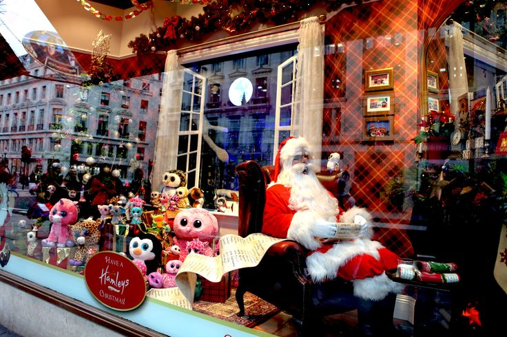 Visit Father Christmas at @hamleystoys in #RegentStreet this festive season.