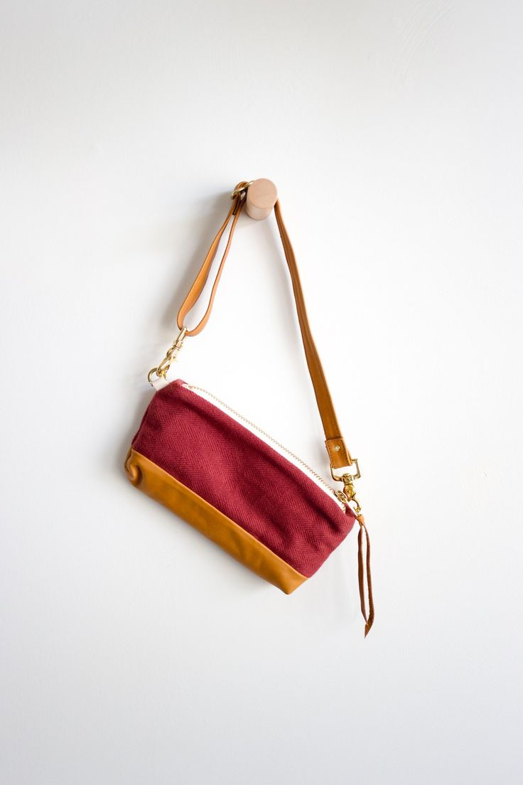 Leather Accent Tag - grape light by VIDA VIDA ylYD95