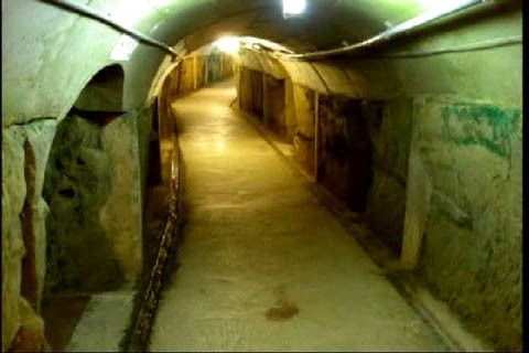 lower level tunnels at Dulce base