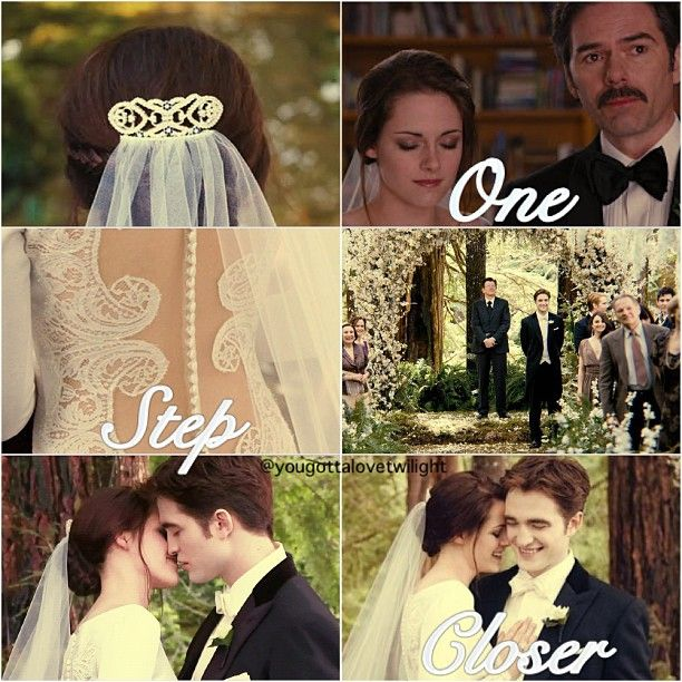 Bella and Edward's wedding... Forever Starts NOW