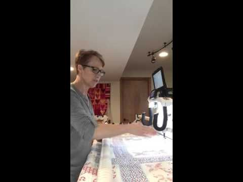 "How to flatten a ""not so perfect"" quilt or wavy border! - YouTube"