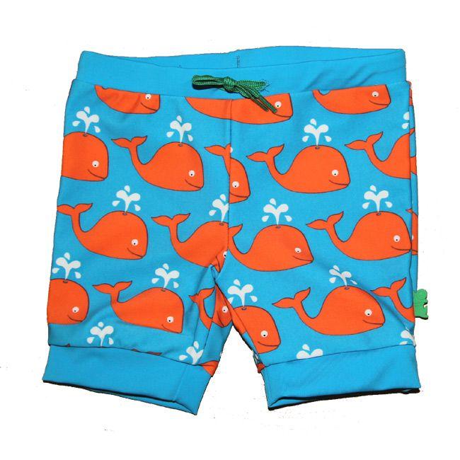 Knotsknetter - Fred's World UV-zwembroek met walvissen - Meisjeskleding
