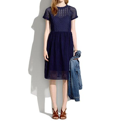 Madewell - Eyelet Hideaway Dress.  So annoying Madewell doesn't ship to Australia.: Dresses Cocktail Day, Madewell Eyelet Hideaway Dress, Style Inspiration, Dress Madewell, Defined Dresses, Closet, Wear, Photo, Eyelet Dress