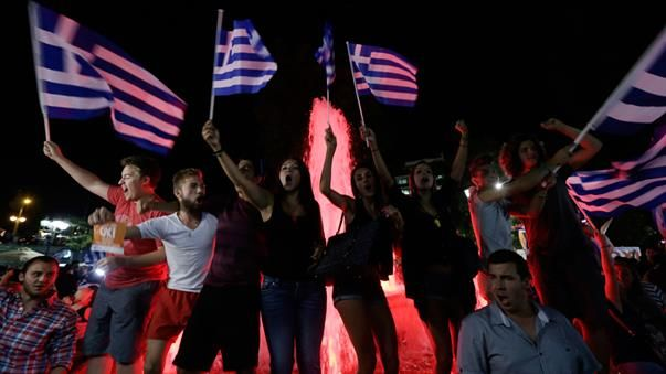 #Greece The Australian stock market has lost around 1.7 percent in response to Greece's rejection of its creditors' proposed further austerity measures. (AAP)