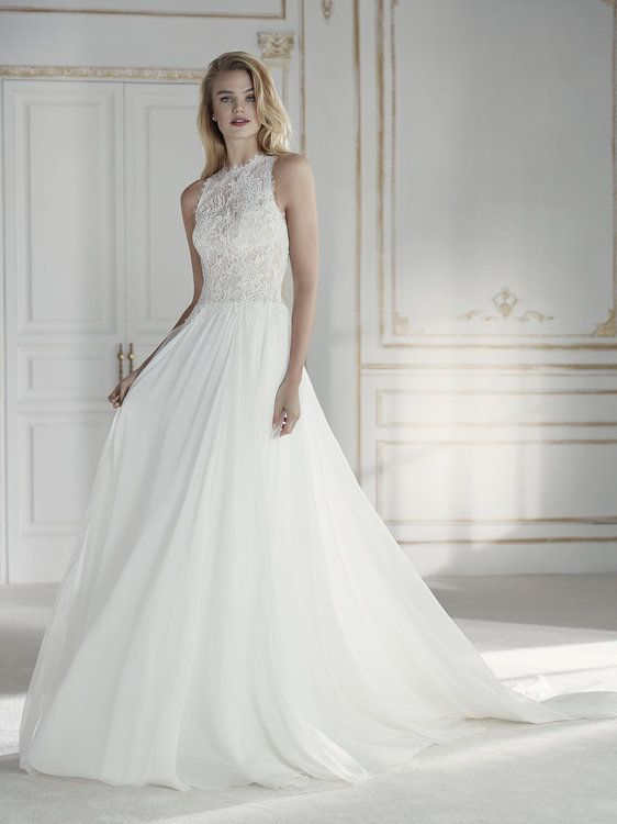 vestidos de novia línea a: el corte que sienta bien a todas image