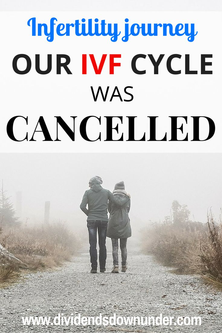 We just wanted it to work and everything to go well but nothing about our journey seems to be routine. It didn't work.. What do we do now our IVF cycle was cancelled?.. Australian Personal Finance/IVF Blog https://dividendsdownunder.com
