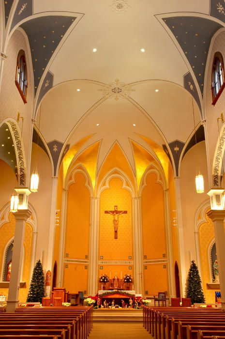 Holy Family Catholic Church - GORGEOUS!