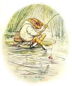 Mr Jeremy Fisher by Beatrix Potter.