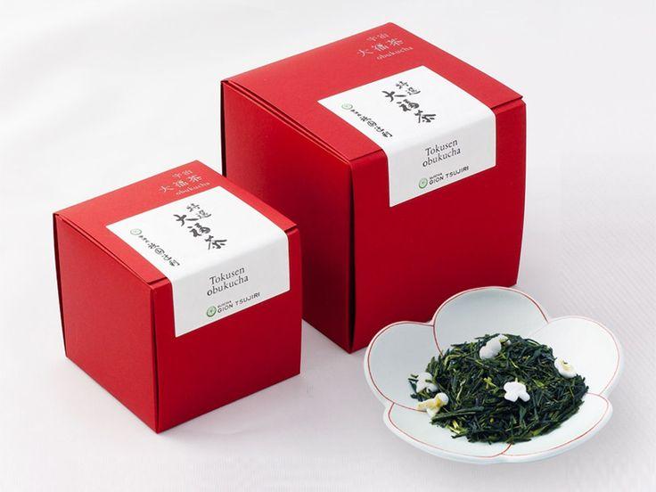祇園辻利から新春のお祝いにいただく大福茶が登場