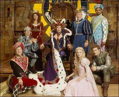 "The cast of ""Once Upon a Mattress""."