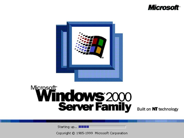 Visual history: Windows splash screens from 1.01 to 10 - Page 19 - TechRepublic